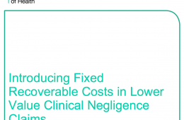 Will limiting the costs in clinical negligence claims make patients less safe?