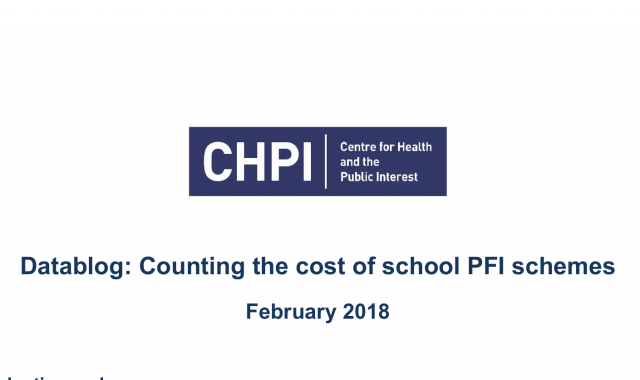 Counting the cost of school PFI schemes