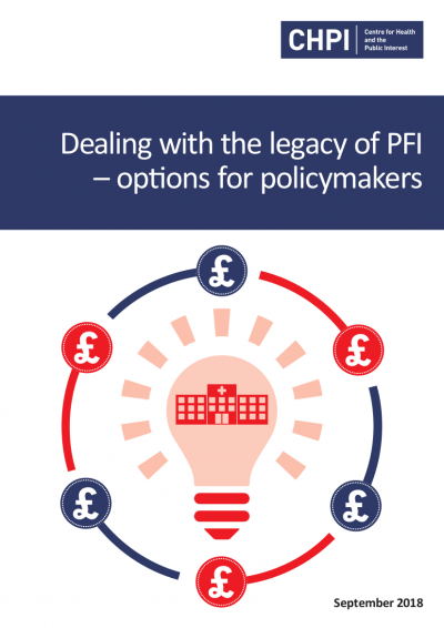 Dealing With The Legacy Of Pfi Options For Policymakers Chpi
