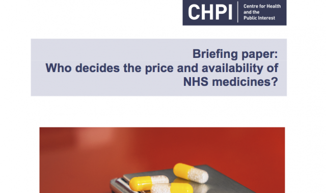 Who decides the price and availability of NHS medicines?