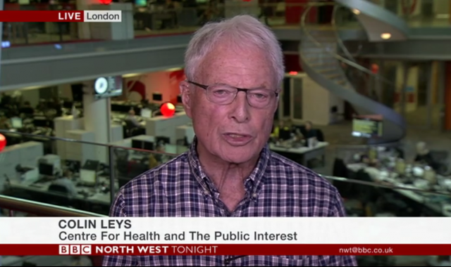 Discussing patient safety risks in private hospitals on BBC Northwest