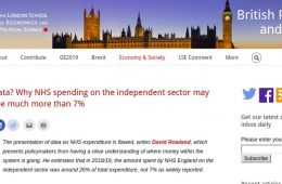 Flawed data? Why NHS spending on the independent sector may actually be much more than 7%