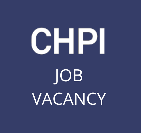 Job Vacancy ─ Researcher on CHPI's new work programme